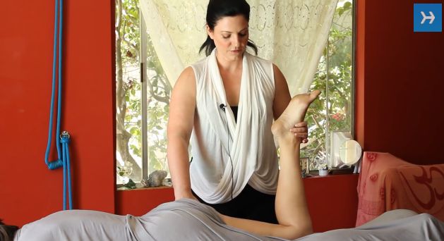 How to Massage the Hips & Buttocks