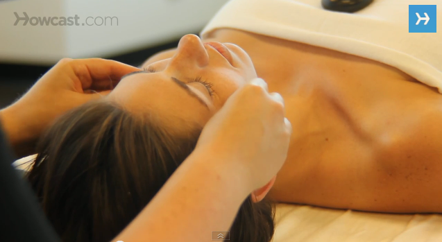 How to Place Stones for Facial Massage